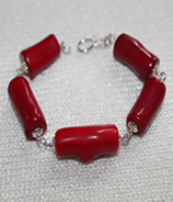 Coralburst Bracelet in Red